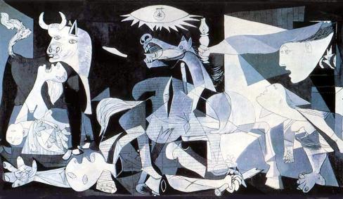 PABLO RUIZ  PICASSO Guernica