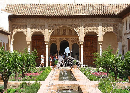Jardines y parques en granada gardens and parks in for Jardines alhambra