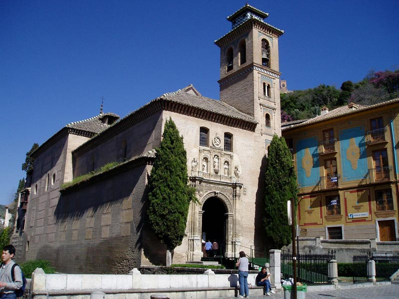 Iglesia de santa ana de granada church of santa ana in - Santa ana granada ...