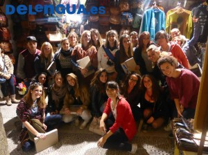 School groups learn Spanish in Granada