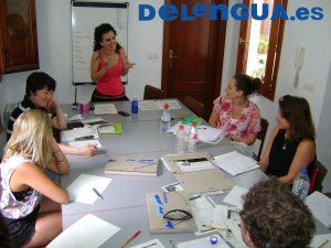 Delengua Class Logotipo